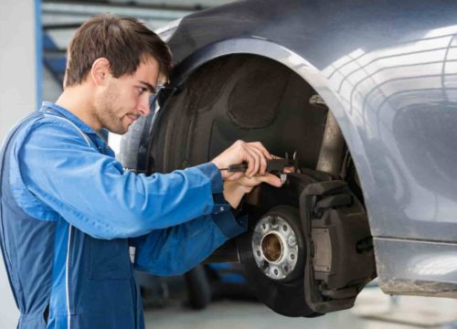 Auto Repair Service - Brake Examination - The Woodlands TX - Woodlands Auto Repair And Collision Center